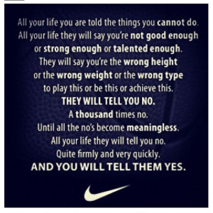 Nike Soccer Quotes And Sayings Nike quotes i love this!
