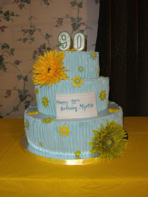 Betty White 90th Birthday Cake
