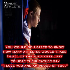 You would be amazed to know how many athletes would trade in all of ...