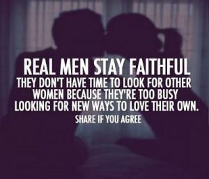Stay Faithful - Boyfriend Quote