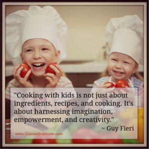 ... Quotes to Celebrate Cooking at QuotesGratitude.com #cooking #quote #