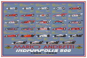 Mario Andretti at Indy by sfreeman421