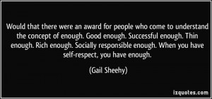 More Gail Sheehy Quotes