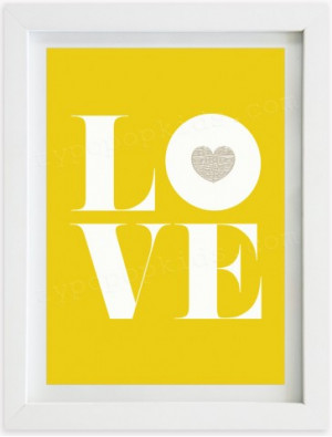 LOVE - Unisex Yellow
