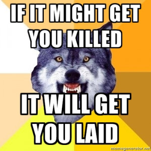 Courage Wolf -Image #157,626