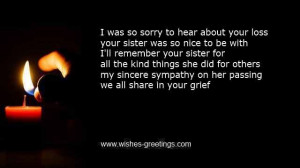 heartfelt poems for the deceased sister-in-law