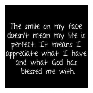 Thank you God for #BLESSING me with all I have.