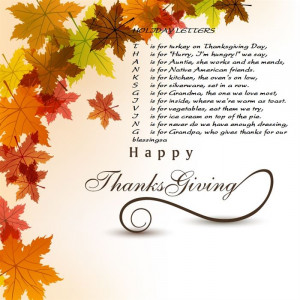 ... Best Funny Thanksgiving Poems For Friends Below To Share With Friends