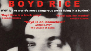 Music, Movies and Misanthropy: On Boyd Rice and Iconoclast