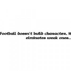 Football Quotes And Sayings Football wall quotes sayings