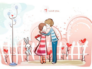 pictures of love-love pictures-romantic images-cartoon couple