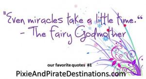 Disney quote #1 #Fairy #Godmother | Disney Quotes