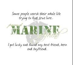 Marine Girlfriend Picture