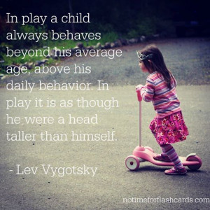 favourite quote from Lev Vygotsky!