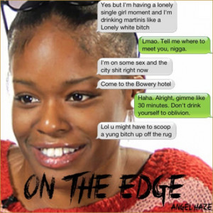 Music] Angel Haze – On The Edge (Azealia Banks Diss)