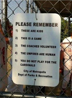 Softball Sign - Image