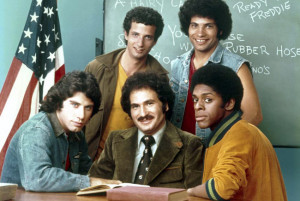 John Travolta played a high school student in Welcome Back, Kotter in ...