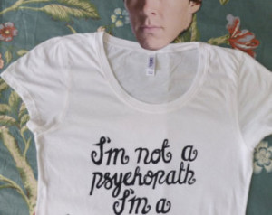 Psychopath Quotes Famous Made to order sherlock quote