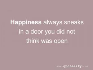 Inspirational Door Quotes