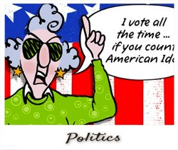 Vote All The Time If You Count American… ~ Politics Quote