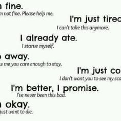 Go Back > Pix For > Anorexia Quotes