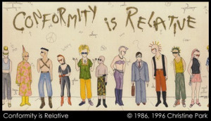fig 1. Relativity of conformity