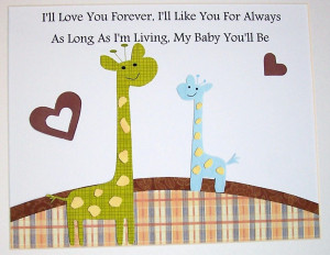 Baby Boy Wall Art Quote