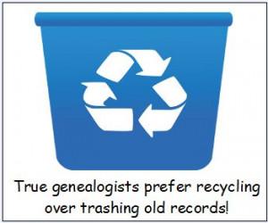 genealogy saying: