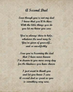 Step dad poem
