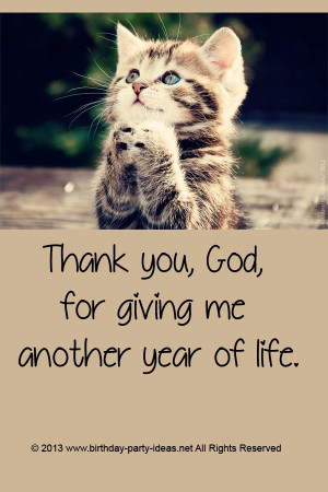 : Happy Birthday Quotes For Me, Birthday Thank You God, Thank Quotes ...