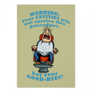 funny dental posters