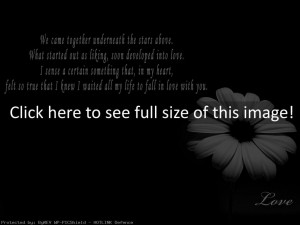 Emo Love Quotes Wallpaper