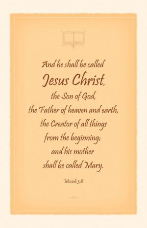 Book of Mormon prophecy of Christ's birth. Merry Christmas