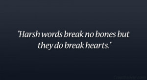 Harsh Break Up Quotes