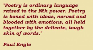 Paul engle famous quotes 2