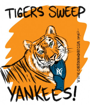 Detroit Tigers Sweep Yankees