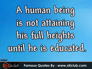 famous education quotes quotesgram