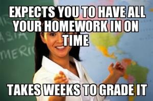 Unhelpful Teacher Meme