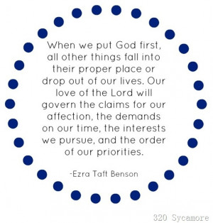 put God first favorite-quotes