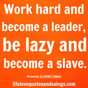 work hard be nice quote