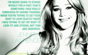 quote, celebrity, Jennifer, Lawrence, Jennifer Lawrence, Hunger ...
