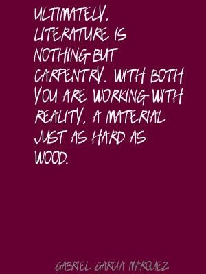 Quotes About Carpentry