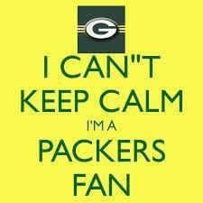 Packers fans don't keep calm!