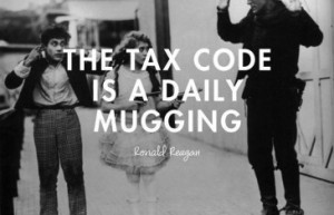 The Tax Code is a Daily Mugging