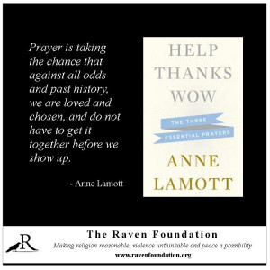 Anne Lamott on Prayer: Book Review of Help, Thanks, Wow - The Raven ...