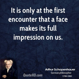 First Impression Quotes