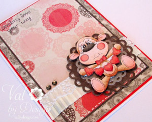 How adorable is this card by our Guest Designer today!! Val from http ...