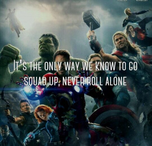 Marvel Awesome Quote