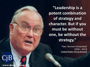 ... Gen. Norman Schwarzkopf (1934 – 2012) United States Army General