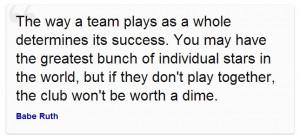 Encouraging Spirit through Quotes about Teamwork : Team Success Quotes